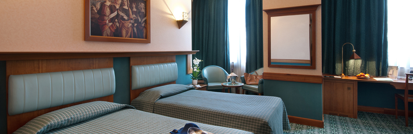 Guest rooms - Hotel Sangallo Umbria